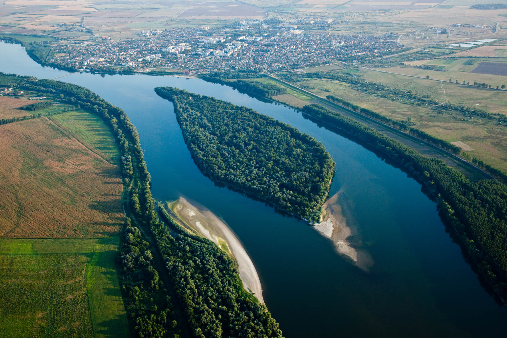 One of the aims of the partnership is to restore Danube floodplains to demonstrate the benefits of wetland systems to the public and decision makers.