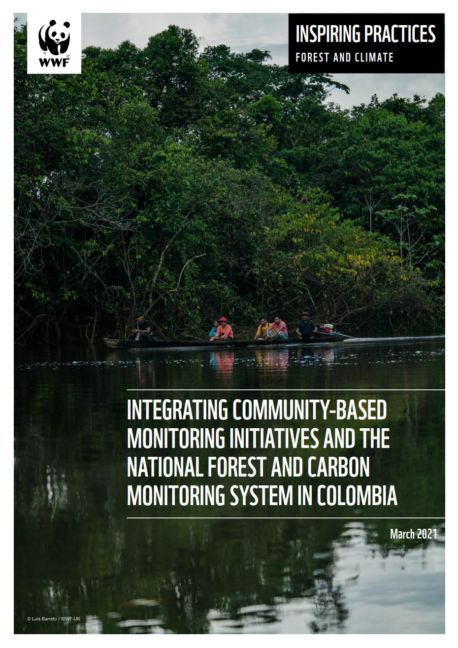 Inspiring Practices: Integrating Community-based Monitoring Initiatives and the National Forest and Carbon Monitoring System in Colombia cover image