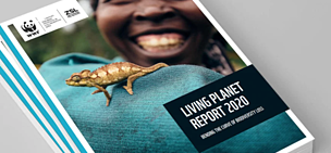 Living Planet Report cover
